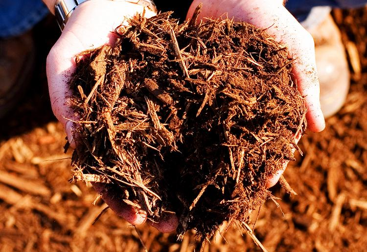 Double Ground Oak Bulk Mulch Smart Mart